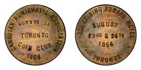 1954 C.N.A. Toronto