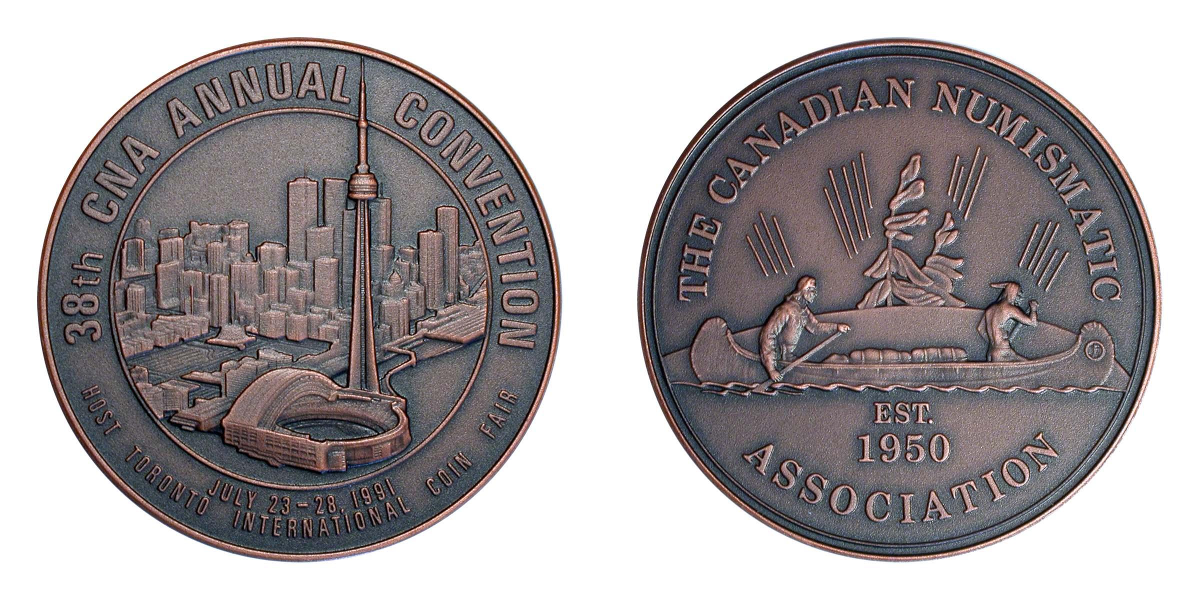 1991 C.N.A. Toronto